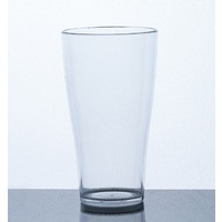 Plastic Beer Glass - Polycarbonate - Certified 285mL