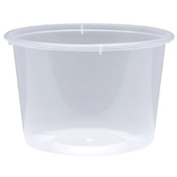 Round Takeaway Containers 280mL Sleeve of 50