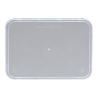 Rectangle Takeaway Container Lids - Microwave Safe