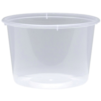 Small Round Takeaway Containers 25mL Box of 5000