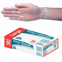 Vinyl Gloves Low Powdered Disposable