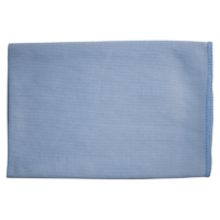 Microfibre Glass / Mirror Cleaning Cloth Blue