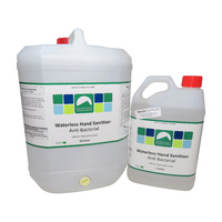 Waterless Hand Sanitiser 5L / 20L