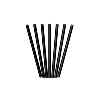 Drinking Straws Straight Black Regular / Jumbo Size