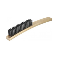 Steel Wire Brush No. 8 - 4 Row Medium Stiff