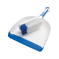 Dustpan and Brush Set Softgrip