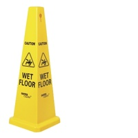 Caution Wet Floor Cone - Medium / Large
