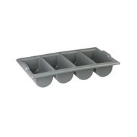 Cutlery Holder Tray 4 Compartment