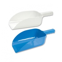 Flat Bottom Ice Scoop - Plastic x 1