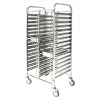 Double Gastronorm Trolley