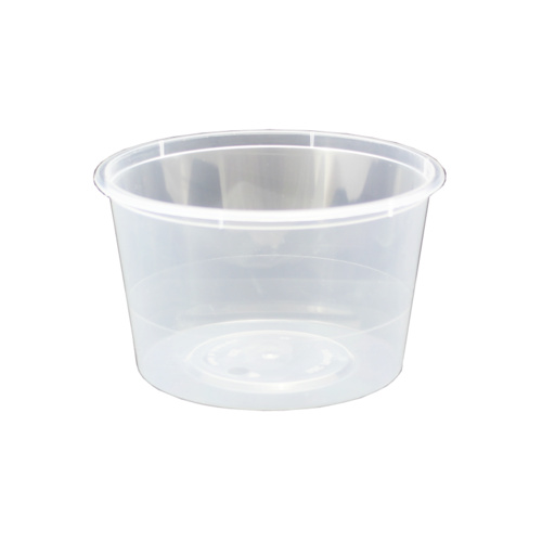Small Round Takeaway Containers 4oz (110mL) Box of 1000