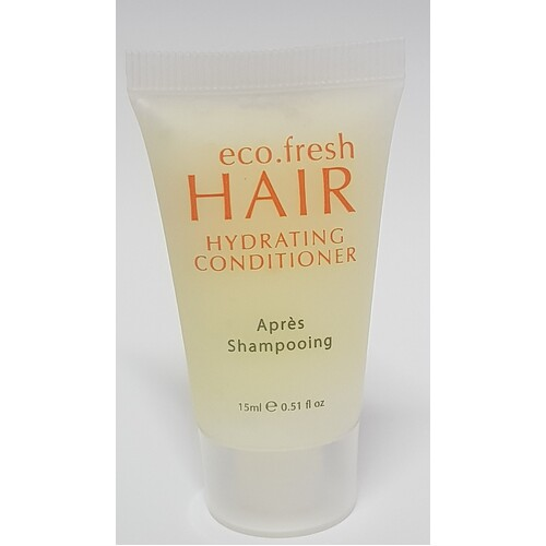 Hotel Mini Conditioner Tube 15mL x 400 Ecofresh