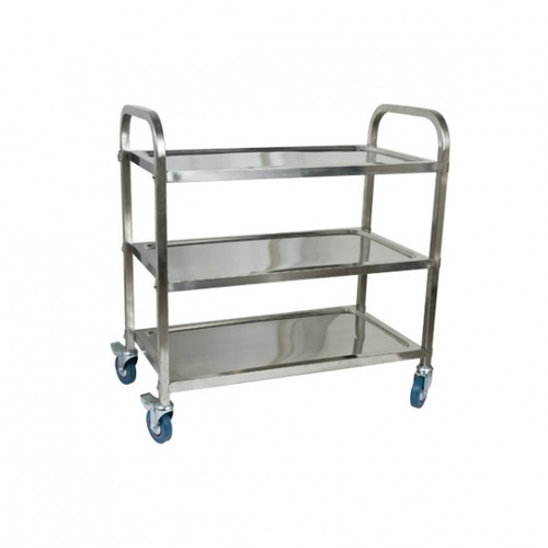 Serving Trolley Stainless Steel
