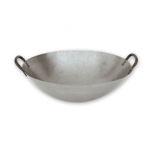 Chinese Carbon Steel / Iron Wok 43cm