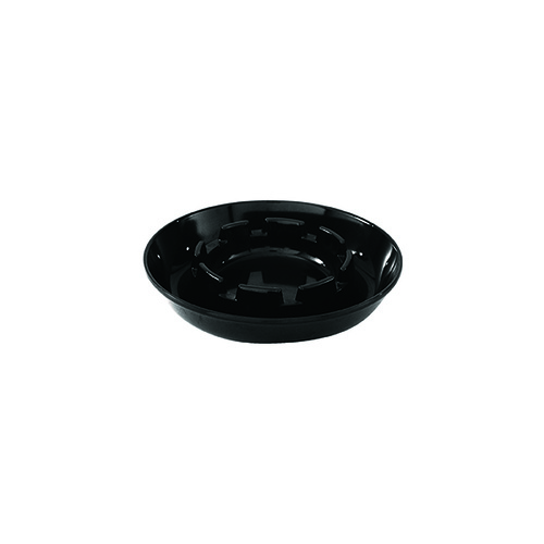 Ashtray Polycarbonate - Black 135mm x 1