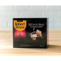 Robert Timms Decaffeinated Coffee Bags