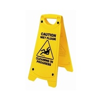 Wet Floor Caution Sign - A Frame