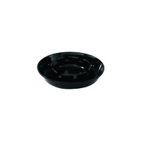 Ashtray Polycarbonate - Black 135mm (Box of 24)