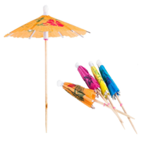Paper Parasols Cocktail Umbrellas x 144