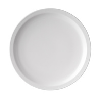 Round Plate Melmine White 250mm