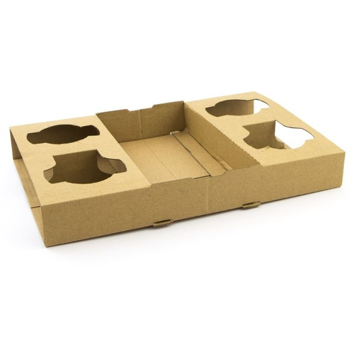 Coffee Cup Holder Trays (4cup) x100