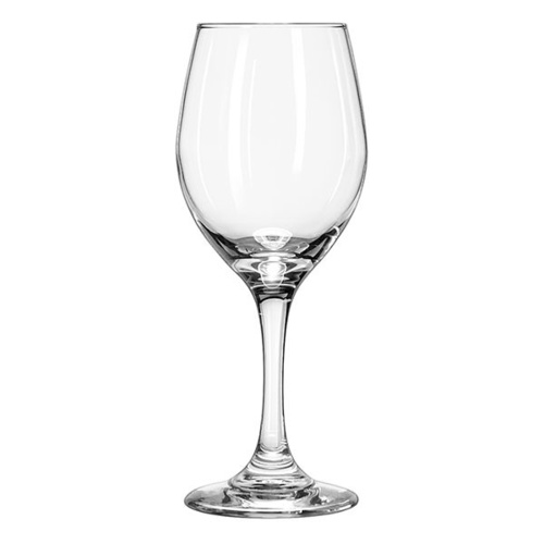 Restaurant Standard Wine Glass with Line | Perception 326mL x 12 Glasses