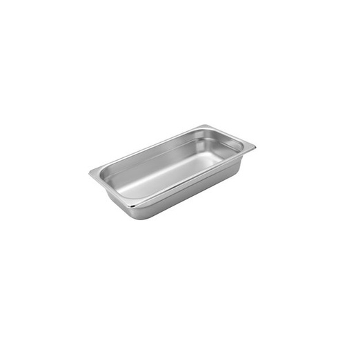 Bain Marie Trays 1/3 Third Size x 100mm Deep (Box of 18)